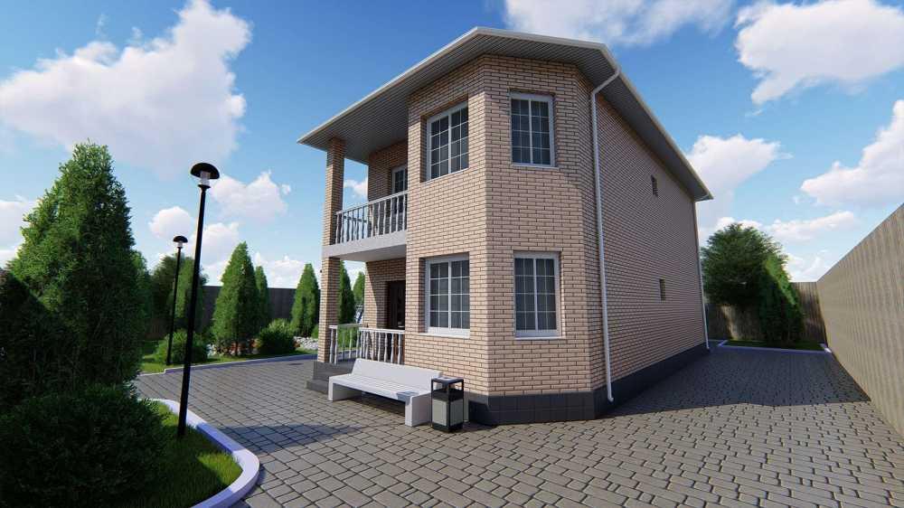 Коттеджный поселок «Изумрудный город»   Краснодар Дом 158.4 кв.м на участке 3.0 сот. (#391)