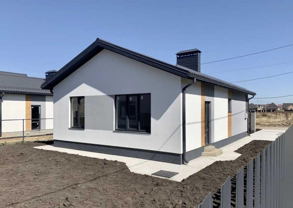 Коттеджный поселок «Скандинавия»   Краснодар Дом 80.0 кв.м на участке 4.0 сот. (#329)
